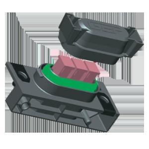 j case fuse holder, sealed 3-way